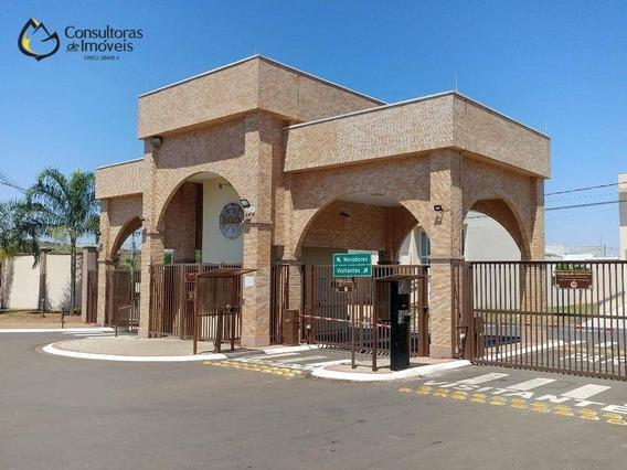 Terreno À Venda, 467 M² Por R$ 295.000,00 - Condomínio Yucatan - Paulínia/sp - Te0242