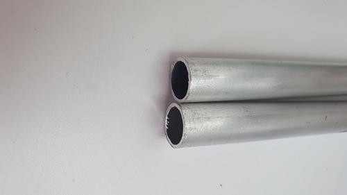 Tubo De  Alumínio  1/2'' -  3 Unidades 75cm