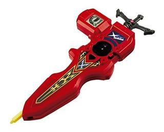 Takara Tomy B-94 Beyblade Burst Digital Espada Lanzador Rojo