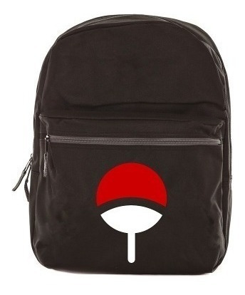 Mochila Bolsa Naruto Sharingan Modelo Escolar