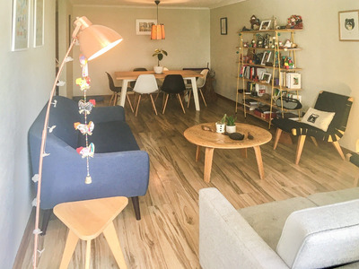 Moderno Departamento De 3 Dormitorios A Una Cuadra Metro Bilbao Con Tobalaba