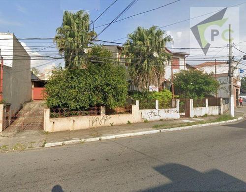 Imagem 1 de 1 de Terreno À Venda, 580 M² Por R$ 1.200.000,00 - Limão (zona Norte) - São Paulo/sp - Te0050