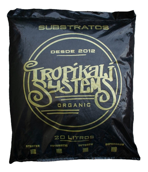 Substrato Orgânico Supergrow 20 Litros Tropikalli Systems