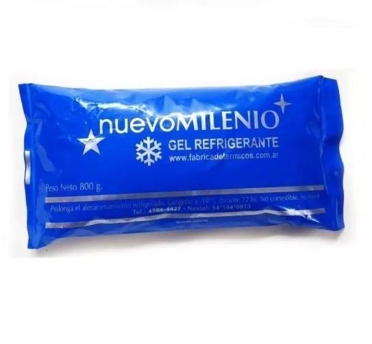 Gel Refrigerante Sachet 800 Gramos Conservadora Pack De 4