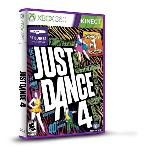Imagem 1 de 6 de Just Dance 4 Original Mídia Física Lacrado Novo Xbox 360