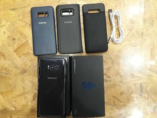 Samsung S8 Plus (sin Modulo) Con Fundas Varias