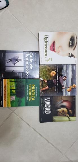 Livros Sobre Fotografia Diversos !Somente O Lote Todo