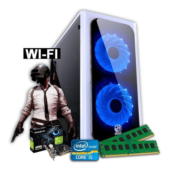 Computador Gamer I3 8gb 500gb Vga 2gb Ddr5 Win 10 Hdmi Wifi