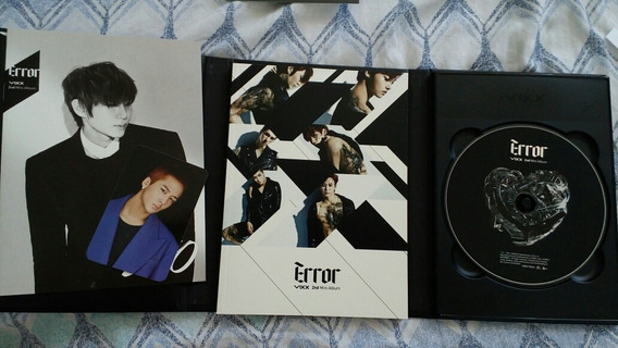 Cd Kpop Vixx Error + Card