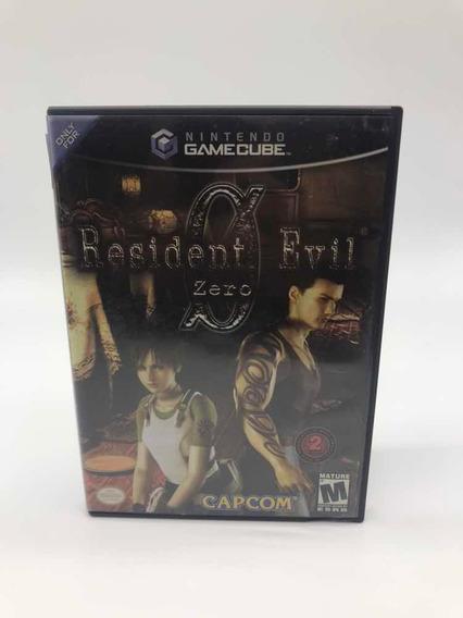Resident Evil 0 Zero Nintendo Gamecube Original Americano