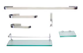 Kit Para Banheiro Onix 2 (6 Peças) Frete Gratis