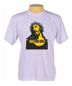 Camisa Jesus Cristo Axl Rose Guns N