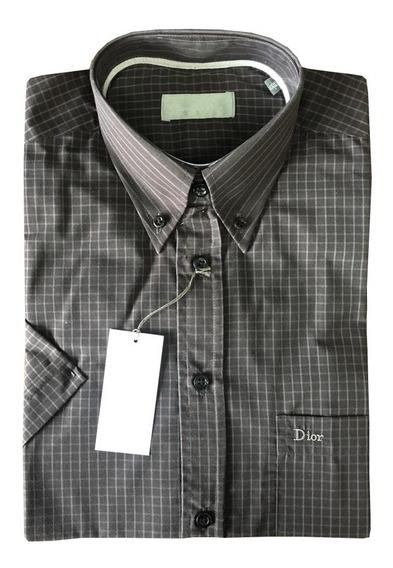 Camisa Sport Manga Corta Christian Dior