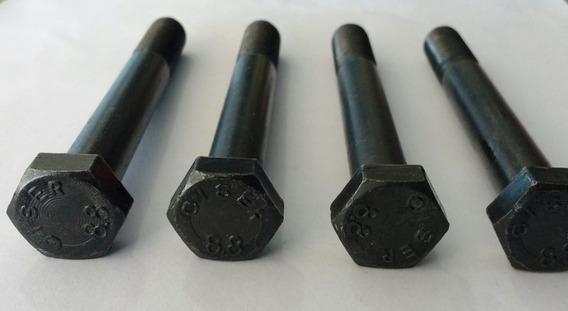 Parafuso Aço 12x90 P/ Fixar Suspensão Diant. Fusca (4 Peças)