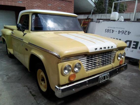 Permuto Dodge Fargo D100 1961 Con Gnc Hace Una Semana