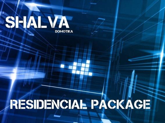 Domotica Kit Residencial Package Shalva Domotika