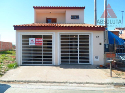 Casa Residencial Para Locação, Jardim Bertoni, Americana. - Ca1100