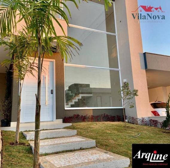 Casa Com 3 Dormitórios À Venda, 320 M² Por R$ 1.450.000,00 - Jardim Residencial Dona Lucilla - Indaiatuba/sp - Ca1516
