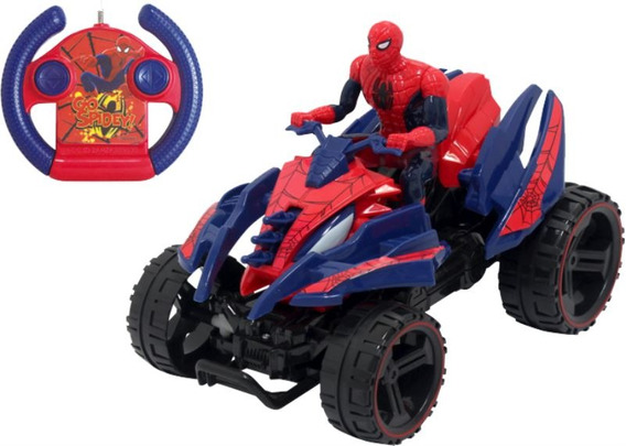 Cuatriciclo Rc Spiderman 7215 Marvel