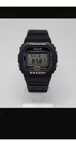 Relógio Aqua Presidente Bolsonaro 2019 Digital Prov Agua