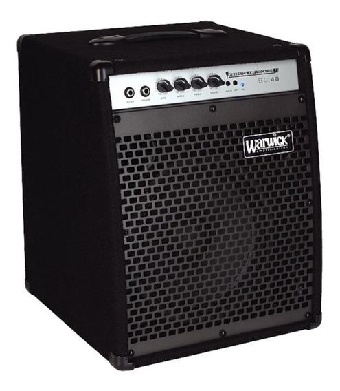Warwick Bc40 Amplificador Combo De Bajo 40w Ecualizador