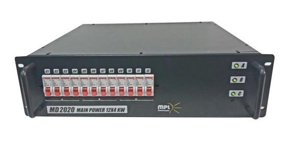 01 Dimmer 12c Dx 1016 E 01 Mod. Disjuntor Md2020