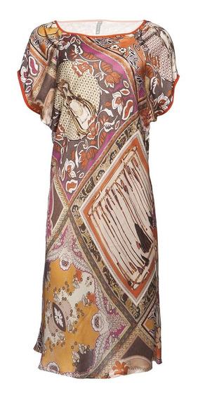 Vestido Feminino Camisa Social Evangelico Estampado Cetim