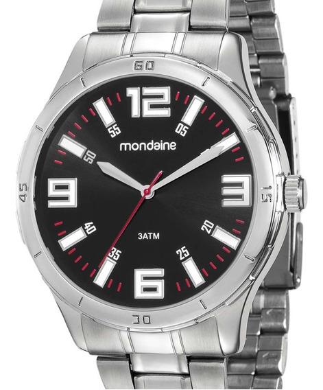 Relógio Mondaine Masculino Prata 99059g0mvne1