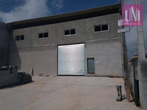 Galpão À Venda, 1350 M² Por R$ 4.000.000,00 - Loteamento Industrial Coral - Mauá/sp - Ga0099