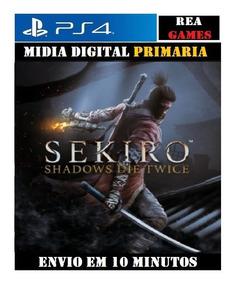 Sekiro Ps4 Shadows Die Twice - Original 1 Psn - Portugues