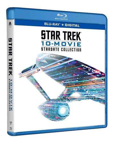 Imagen 1 de 3 de Blu-ray Star Trek Stardate Collection / Incluye 10 Films
