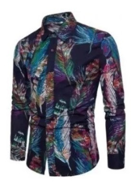 Camisa Feminina Floral Exclusiva 2019 Social
