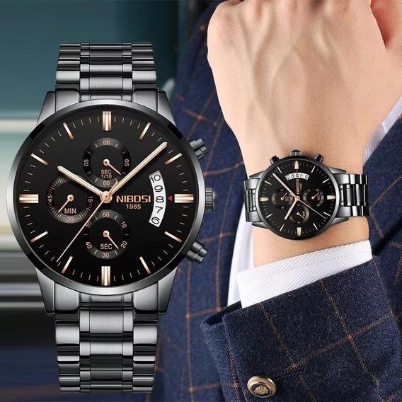 Relógio Masculino Nibosi Original Aprova D