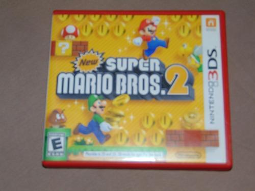 New Super Mario Bros 2 3d Juego De Nintendo 3ds Vendo