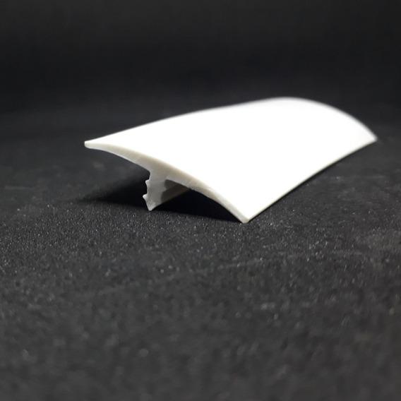 Perfil T Pvc Sem Abas 10 Mts. 30mm Branco/ Preto/ Café/ Bege