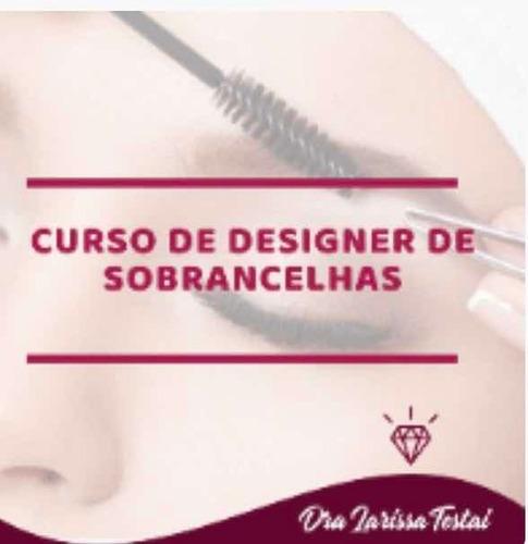 Imagem 1 de 1 de Curso Designer De Sobrancelhas - Dra. Larissa Testai
