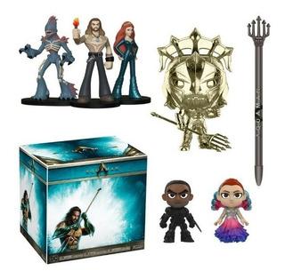 Funko Aquaman Dc Deluxe Collectors Box 2019