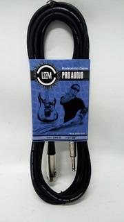 Cable Canon A Plug Para Microfono Leem Cmh20 6 Mts