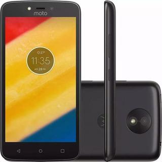 Celular Promoção Moto C 8gb, Xt-1758 Tela 5.0 4g Android7.0