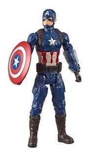 Avengers Capitan America Muñeco Titan Hero 30 Cm Orig Hasbro