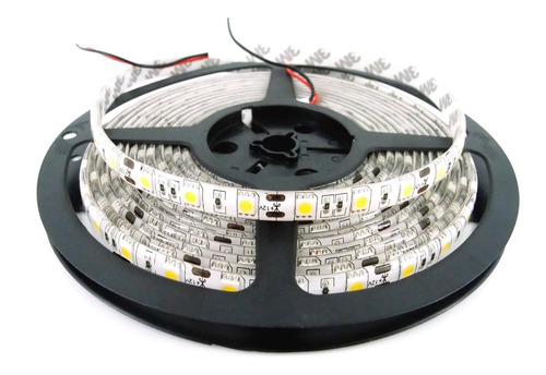 Rollo Tira Led Blanco Calido 5050 60 Led/m 5 Metros Exterior