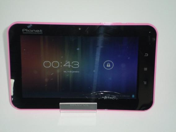 Tablet Planet Bv4000-rosa (atenção Precisa Trocar O Display)