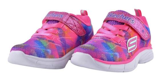 Tênis Infantil Menina Skechers Rainbow Raz
