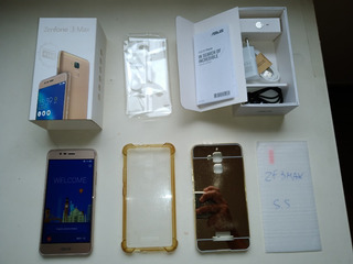 Asus Zenfone 3 Max - 5.5 - 2gb Ram/16gb Dourado