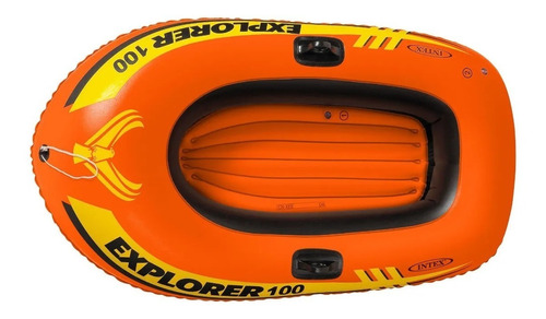 Barco Inflable Bote Intex Explorer 100 147 X 84 X 36 Cm