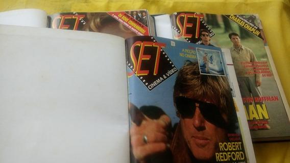 Revistas Set Encadernadas 3 Livros Com 30 Nºs Do 21 Ao 50