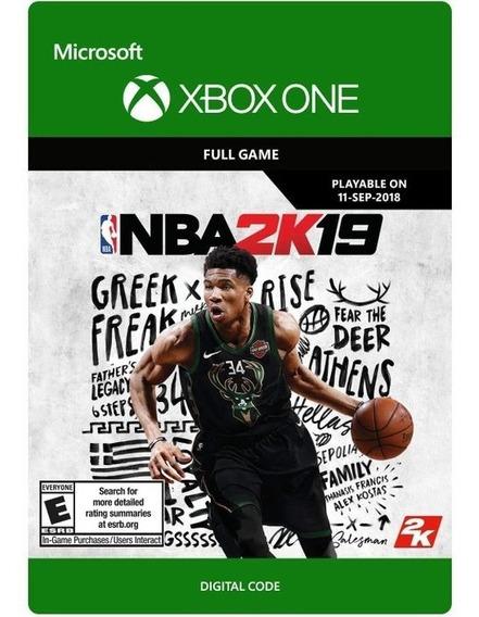Nba 2k19 Xbox One - Digital Código 25 Dígitos