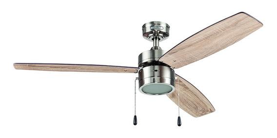 Coolfan Ventilador Lampara Techo Interior 3 Aspas 48302
