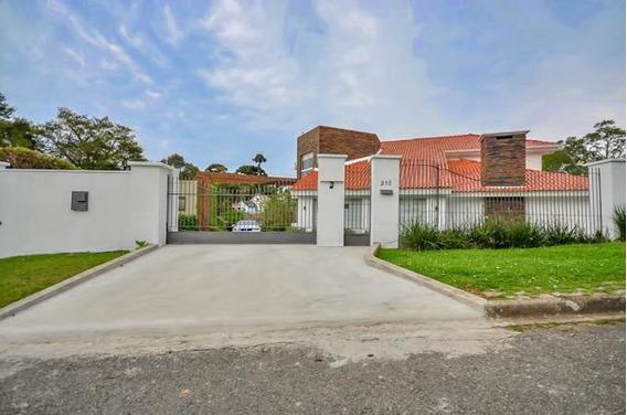 Casa Residencial À Venda, Mercês, Curitiba - Ca0009. - Ca0009
