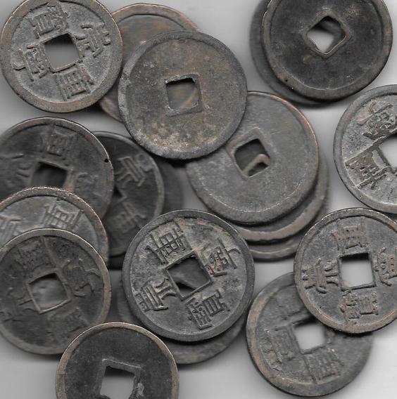 Moneda China 10 Cash Dinastia Dong Año 900 A 1100